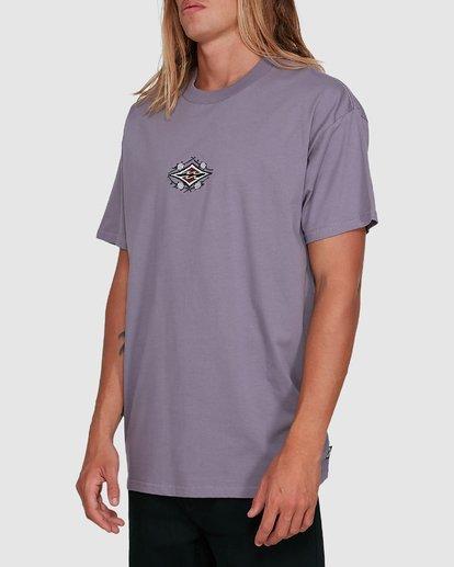 2 Yerrrp Short Sleeve Tee Purple 9503023 Billabong