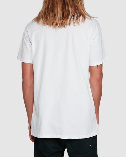3 Yerrrp Short Sleeve Tee White 9503023 Billabong
