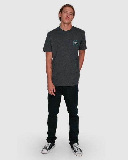 6 Access Short Sleeve Tee Black 9503027 Billabong