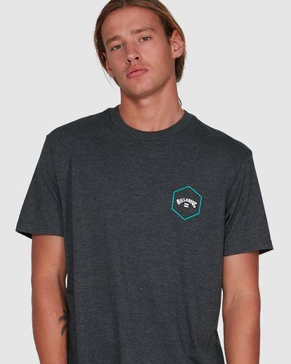 4 Access Short Sleeve Tee Black 9503027 Billabong
