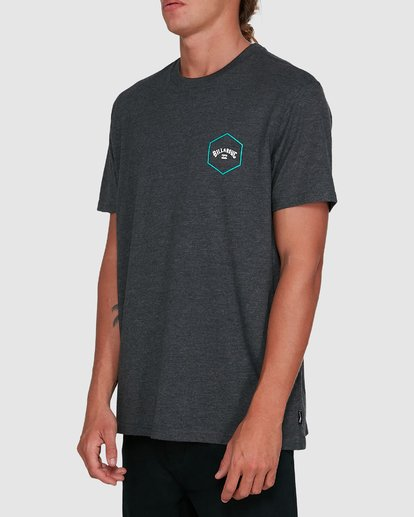 2 Access Short Sleeve Tee Black 9503027 Billabong