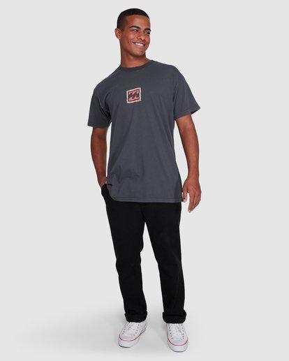 6 Checkers Short Sleeve Tee Black 9503028 Billabong