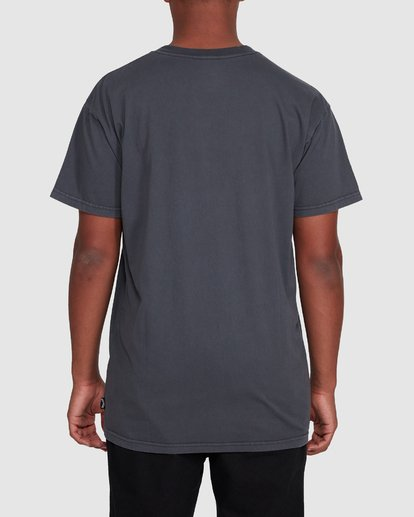 3 Checkers Short Sleeve Tee Black 9503028 Billabong