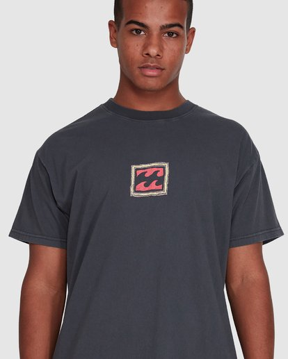 4 Checkers Short Sleeve Tee Black 9503028 Billabong
