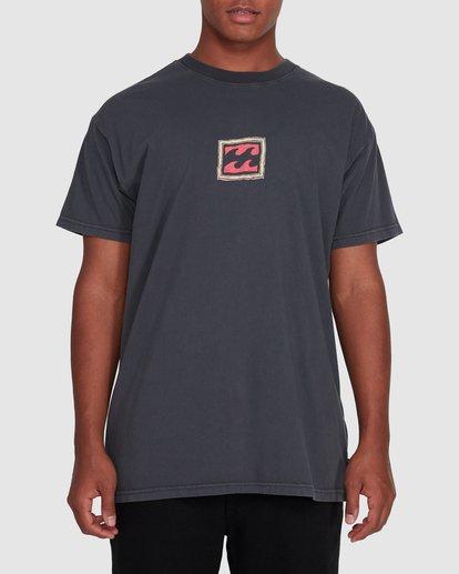 0 Checkers Short Sleeve Tee Black 9503028 Billabong