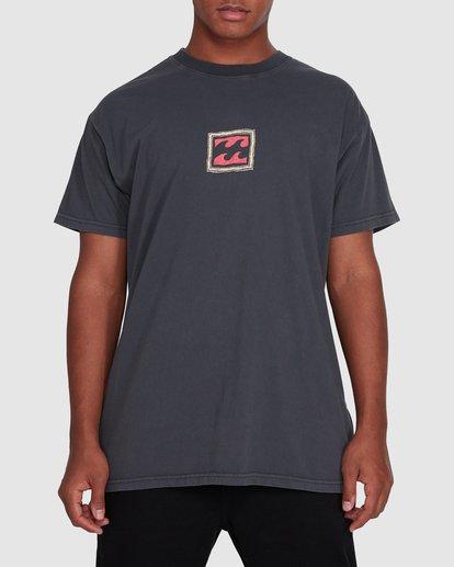 1 Checkers Short Sleeve Tee Black 9503028 Billabong