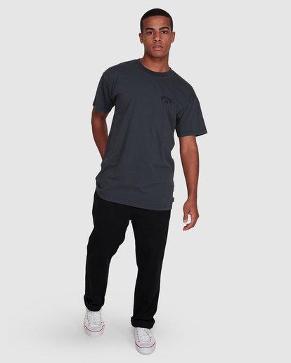 6 Arch Overdye Short Sleeve Tee Black 9503029 Billabong