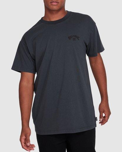 1 Arch Overdye Short Sleeve Tee Black 9503029 Billabong