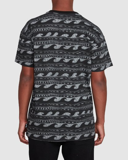 3 Rack Stripe Short Sleeve Tee Black 9503030 Billabong