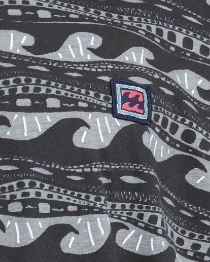 5 Rack Stripe Short Sleeve Tee Black 9503030 Billabong