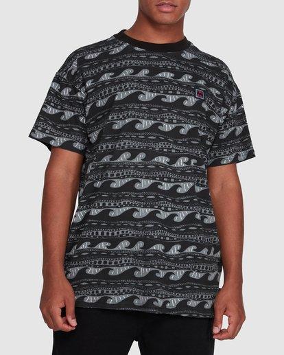 1 Rack Stripe Short Sleeve Tee Black 9503030 Billabong