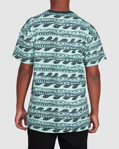 3 Rack Stripe Short Sleeve Tee Green 9503030 Billabong