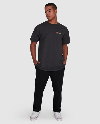 6 Mondo Short Sleeve Tee Black 9503031 Billabong
