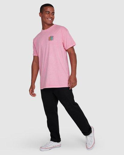 6 Mondo Short Sleeve Tee Pink 9503031 Billabong