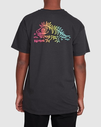 3 Mondo Short Sleeve Tee Black 9503031 Billabong
