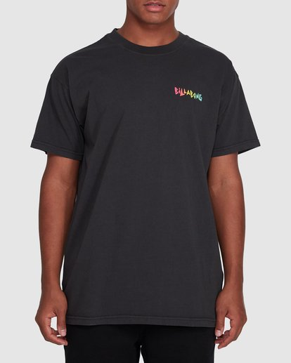 0 Mondo Short Sleeve Tee Black 9503031 Billabong
