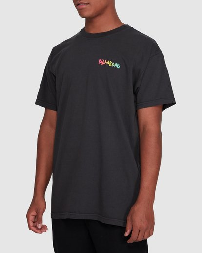 2 Mondo Short Sleeve Tee Black 9503031 Billabong