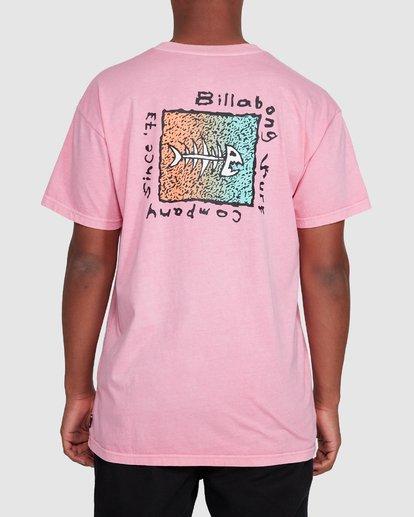 3 Mondo Short Sleeve Tee Pink 9503031 Billabong