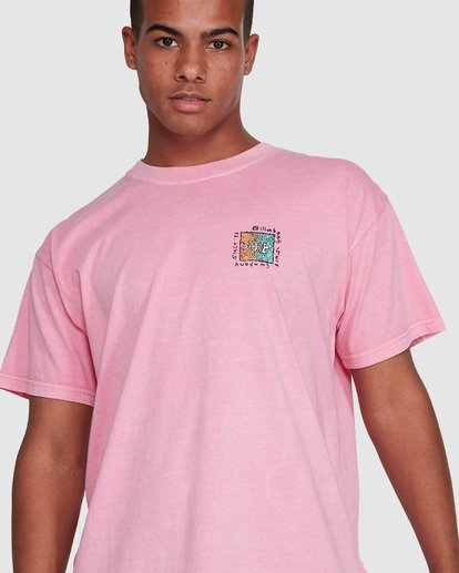 4 Mondo Short Sleeve Tee Pink 9503031 Billabong