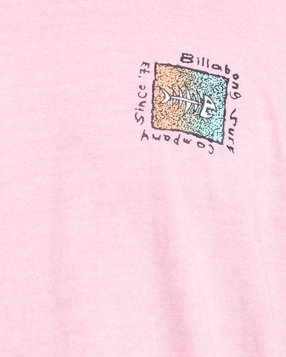 5 Mondo Short Sleeve Tee Pink 9503031 Billabong