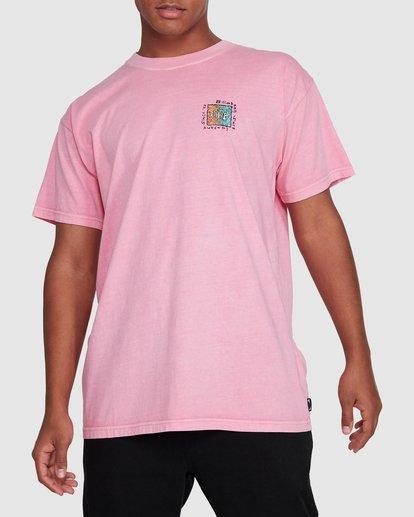 1 Mondo Short Sleeve Tee Pink 9503031 Billabong