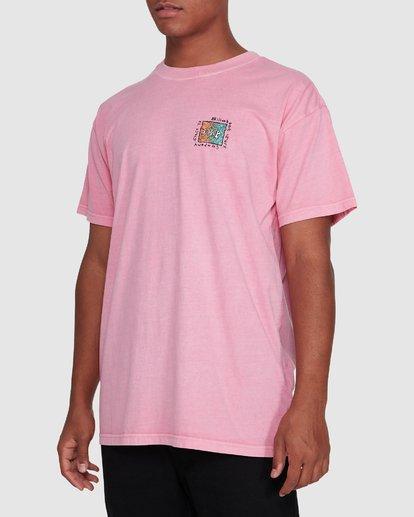 2 Mondo Short Sleeve Tee Pink 9503031 Billabong