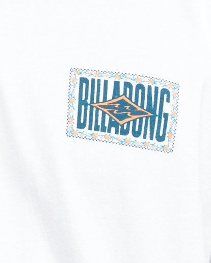 4 Shadows Short Sleeve Tee White 9503034 Billabong