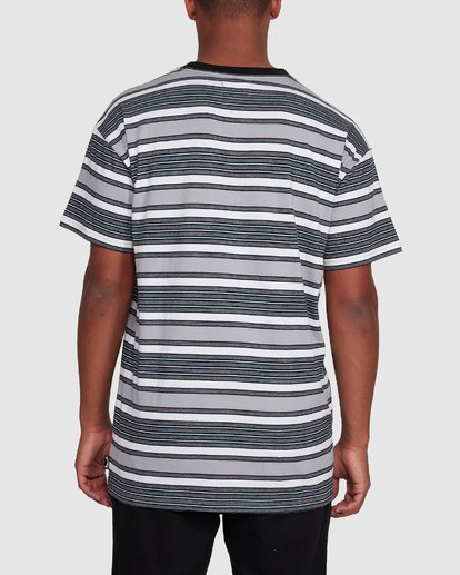 3 Mix Up Stripe Short Sleeve Tee Grey 9503037 Billabong