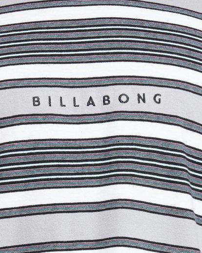 5 Mix Up Stripe Short Sleeve Tee Grey 9503037 Billabong