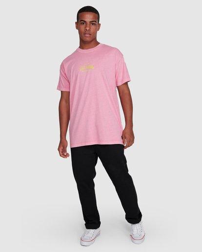 6 Surf Supply Short Sleeve Tee Pink 9503038 Billabong