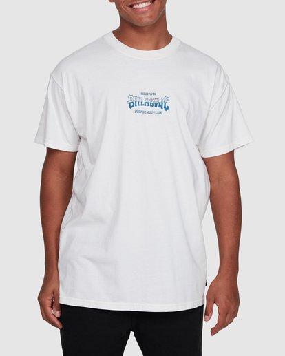 1 Surf Supply Short Sleeve Tee White 9503038 Billabong