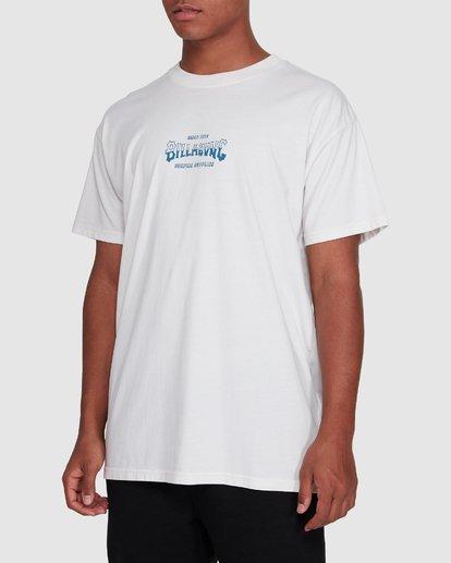 2 Surf Supply Short Sleeve Tee White 9503038 Billabong