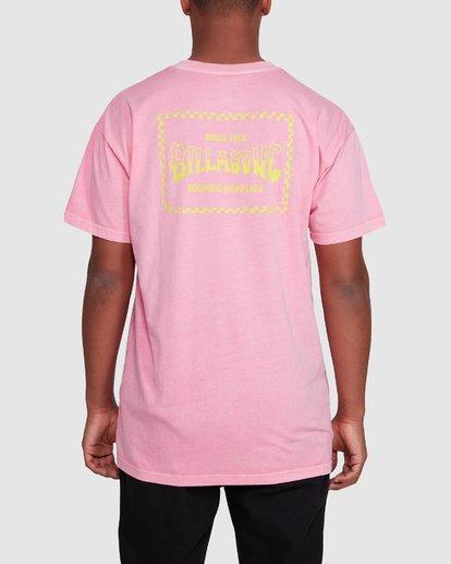 3 Surf Supply Short Sleeve Tee Pink 9503038 Billabong