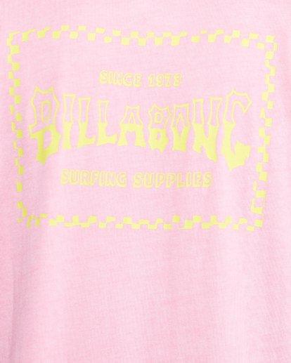 5 Surf Supply Short Sleeve Tee Pink 9503038 Billabong