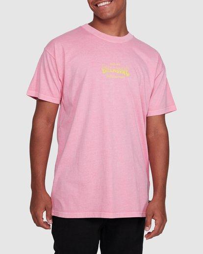 1 Surf Supply Short Sleeve Tee Pink 9503038 Billabong