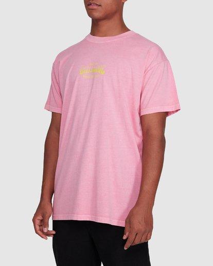 2 Surf Supply Short Sleeve Tee Pink 9503038 Billabong