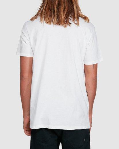 3 Cut Palm Short Sleeve Tee White 9503039 Billabong