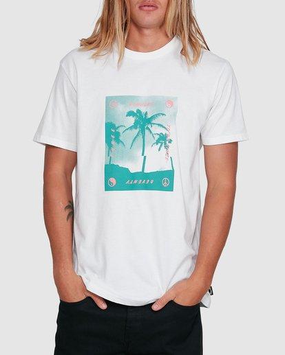 1 Cut Palm Short Sleeve Tee White 9503039 Billabong