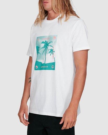 2 Cut Palm Short Sleeve Tee White 9503039 Billabong