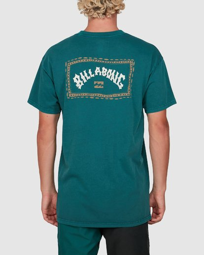 2 Dream Time Arch Short Sleeve Tee Green 9503051 Billabong