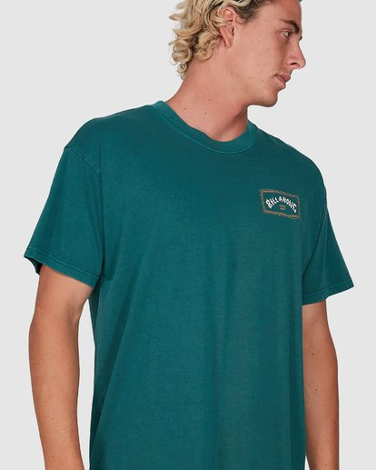 3 Dream Time Arch Short Sleeve Tee Green 9503051 Billabong