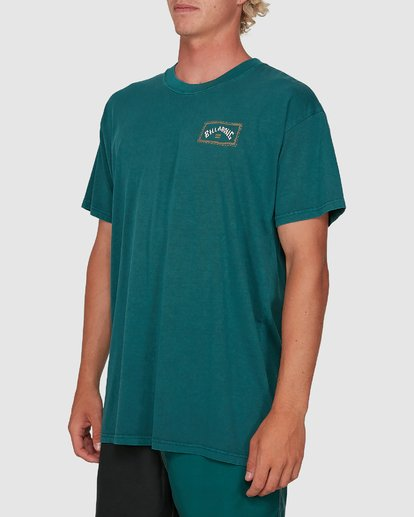 1 Dream Time Arch Short Sleeve Tee Green 9503051 Billabong