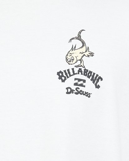 4 Dr. Seuss From Here To There Tee White 9503081 Billabong
