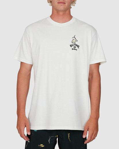 0 Dr. Seuss From Here To There Tee White 9503081 Billabong