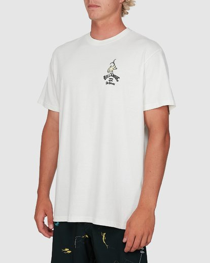 1 Dr. Seuss From Here To There Tee White 9503081 Billabong