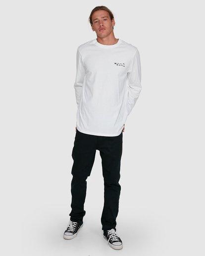 6 King Palm Long Sleeve White 9503172 Billabong