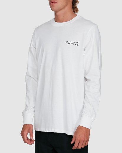 2 King Palm Long Sleeve White 9503172 Billabong