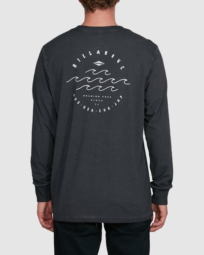 2 Big Wave Dave Long Sleeve Black 9503174 Billabong
