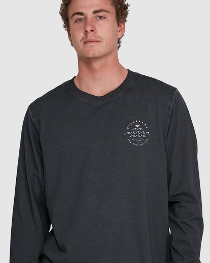 3 Big Wave Dave Long Sleeve Black 9503174 Billabong