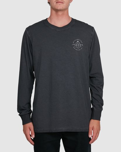 0 Big Wave Dave Long Sleeve Black 9503174 Billabong